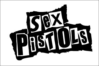 Sex pistols logo all over