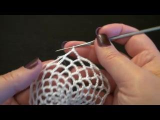 Вязание крючком - новогодние игрушки (бесплатный мастер-класс на )