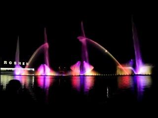 Винницкий фонтан.Европа отдыхает)))