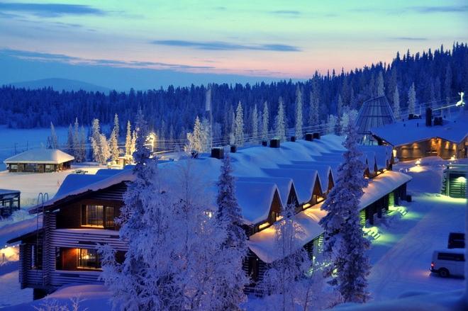 курорты зимой