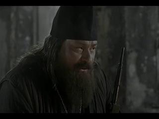 Актер Дмитрий Назаров. Настоящий русский священник.  Фрагмент х/ф Штрафбат (2004 год).