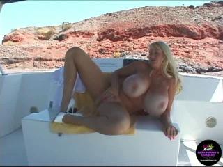 Kayla Kleevage - Big Tit Houseboat Ho (Solo) | Зрелые женщины | Milf | Mature | BBW |18+