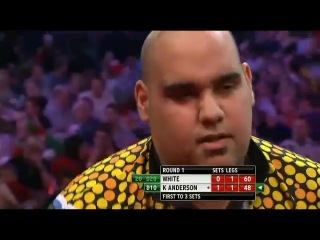 Ian White vs Kyle Anderson (PDC World Darts Championship 2014 / Round 1)