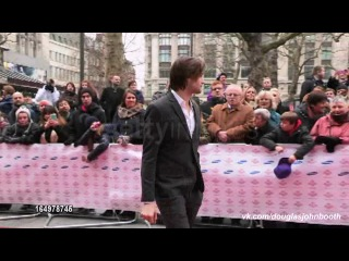 Douglas booth at celebrity video sightings 2013