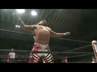 IWU Prince Devitt vs. Hiroshi Tanahashi - NJPW Dominion