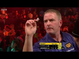 Wesley Harms vs Paul Jennings (BDO World Darts Championship 2014 / Round 1)