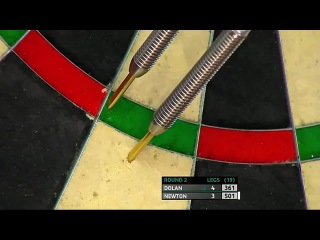 Brendan Dolan vs Wes Newton (Players Championship Finals 2014 / Round 2)