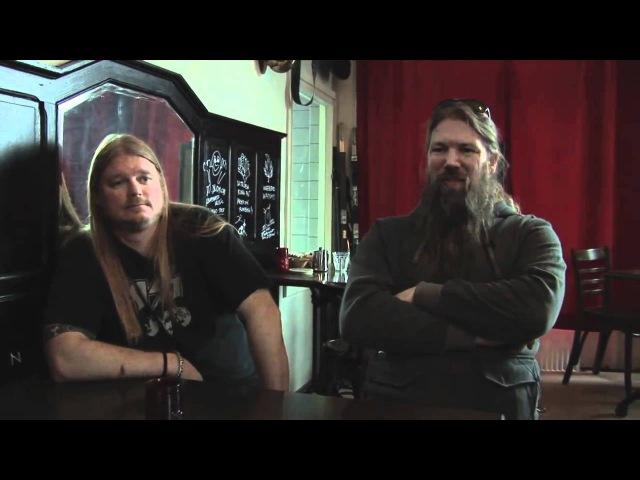 Amon Amarth interview Johan Hegg and Olavi Mikkonen part 1