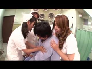 Mitsuki An, Yumi Kazama - Big Tits Beautiful Mature Slut Nurse flock to one of phallic [BID-046]