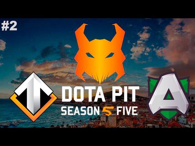 Escape vs Alliance 2 DotaPit Season 5 Dota 2