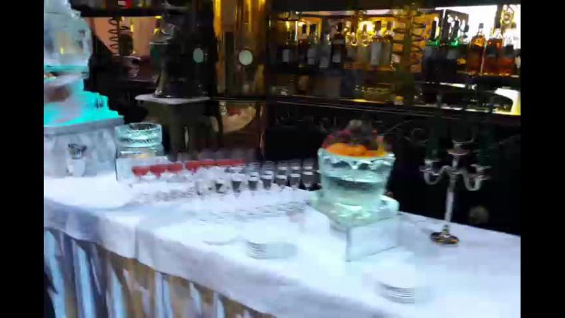 Работаем на свадьбе Сергея и Евгении в ресторане Метрополь MariaCrystalIce www.maryice.ru mashvik75@mail.ru 7-905-204-77-53
