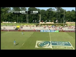 IRB Nations Cup. Argentina - Russia 33:9 (9:9) 2nd half