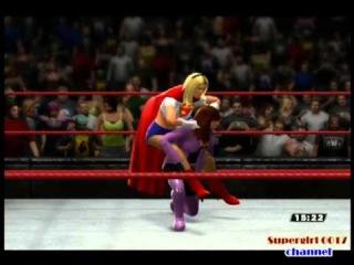 WWE 2013. Supergirl (Linda Danvers) vs Alexis Luthor