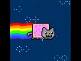 Nyan Cat 10 hours (original) ня деньги няшки красотки секси секс хентай порно аниме пары любовь сила качок
