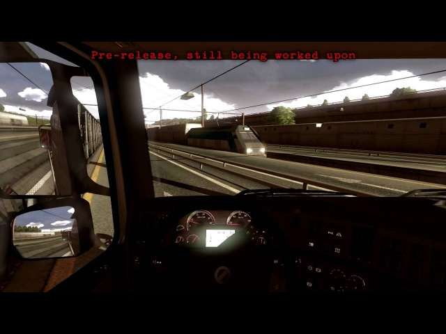 The Valiant (Volvo) and the Chunnel - Euro Truck Simulator 2