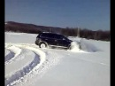 VW TOUAREG V6 TDI SNOW DRIFT