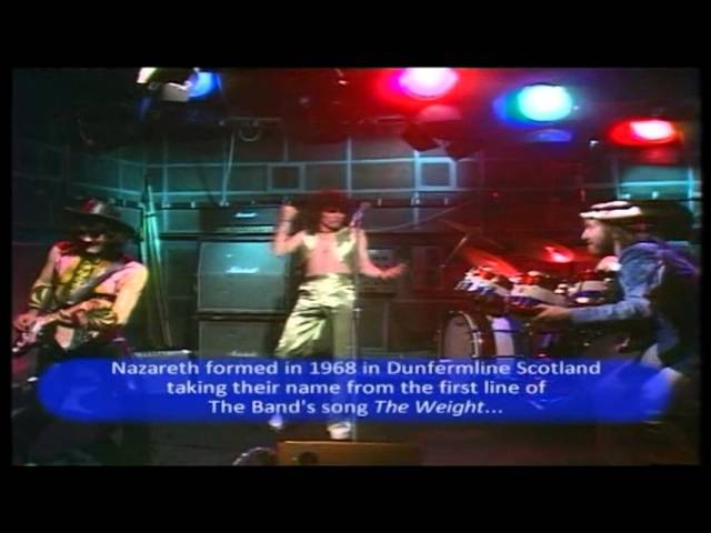 Nazareth Silver Dollar Forger Live 1974