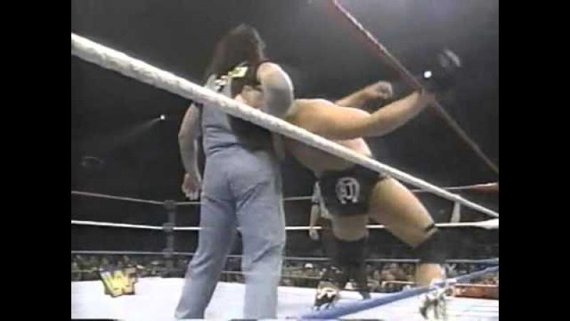 Henry Godwinn vs Blackjack Bradshaw Shotgun March 22nd 1997