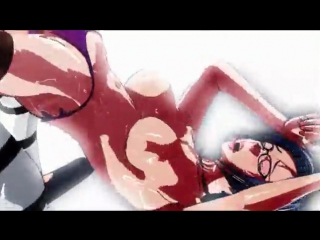 Busty sm queen training prisoner (slave) (3d hentai 18+)