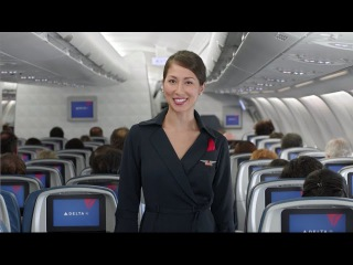 Delta's New In-Flight Safety Video