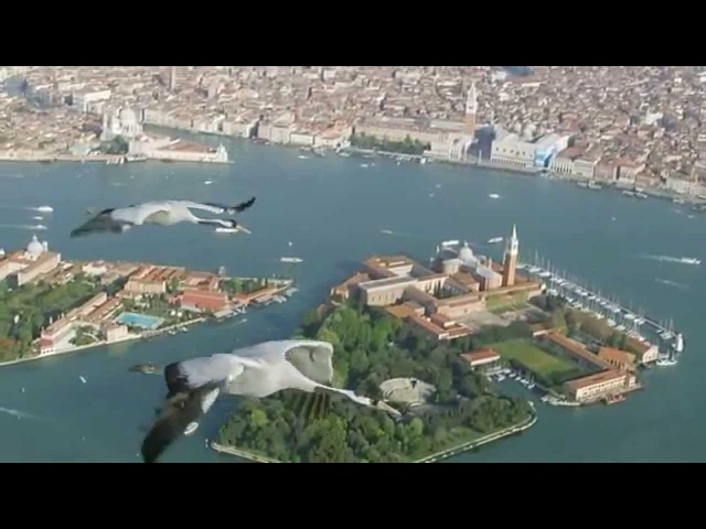 Flying over Venice - Earthflight Europe - 720p