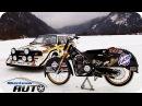 Das ultimative Winter Battle Audi MTM S1 vs Eisspeedway Motorrad Abenteuer Auto Classics