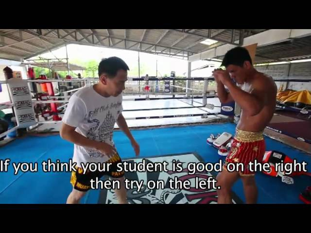 Muay Thai Seminar by Sityodtong and Yokkao 1 2 Khru Toy and Yoddecha