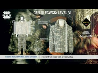 ADS | GEN III ECWCS | Level VI: Extreme Weather Wet/Cold Jacket & Trousers