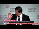 Başbakan Davutoğlu, ABD'de Dış İlişkiler Konseyi Yıllık Kurumsal Konferansı Konuşması.