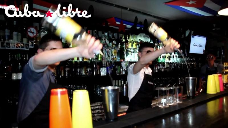 Cuba Libre FlyTeam BarTRENDER Бармен Шоу
