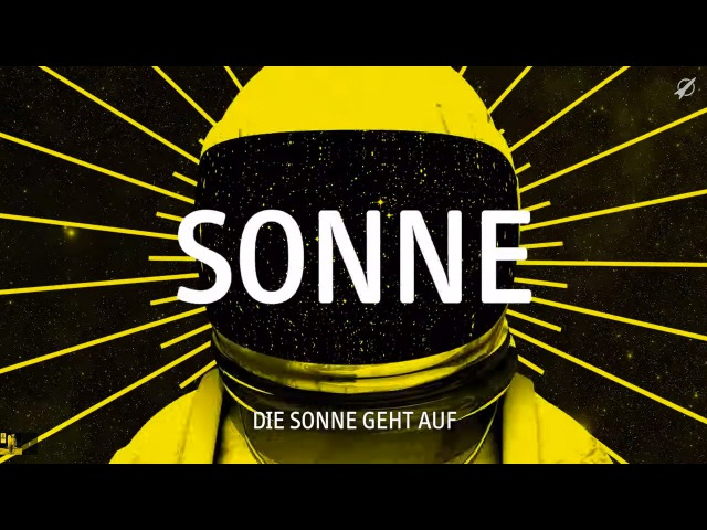 Rakede - Sonne (Lyric Video)