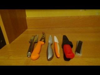 Обзор Различных Кухонных, а так же Монтажных и Строительных Ножей - [© Обзоры Ручного Инструмента]