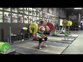 Alyssa Sulay (63kg), Chelsea Ryan (69kg), Jessica Lucero (58kg) - Snatch and Clean & Jerk