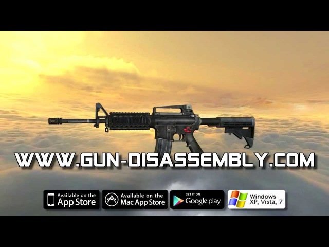 M4 Carbine full disassembly and operation