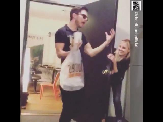 Eli Lieb on Instagram: Screeaammmmzzzz @cherribombofficial @renalovelis @mirandadianemiller @nialovelis @caseymoreta @stacyglenjones