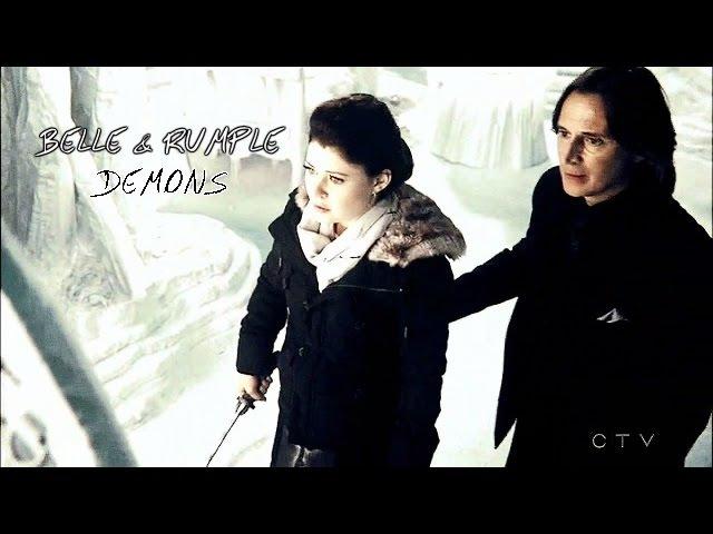 Rumple Belle [OUAT] | it's where my demons hide (4x06)