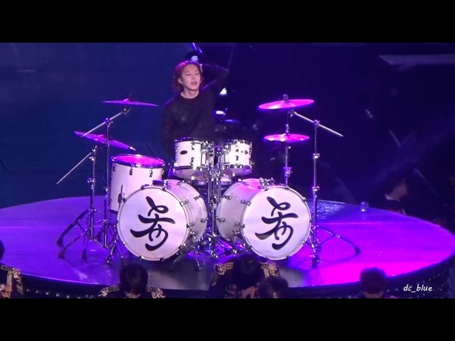 [HD][Fancam] 150207 SS6 Shanghai 'SORRY SORRY' Heechul on Drums Focus Super Junior