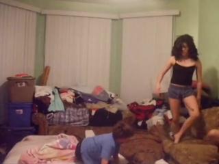 Girl beat up all boys!