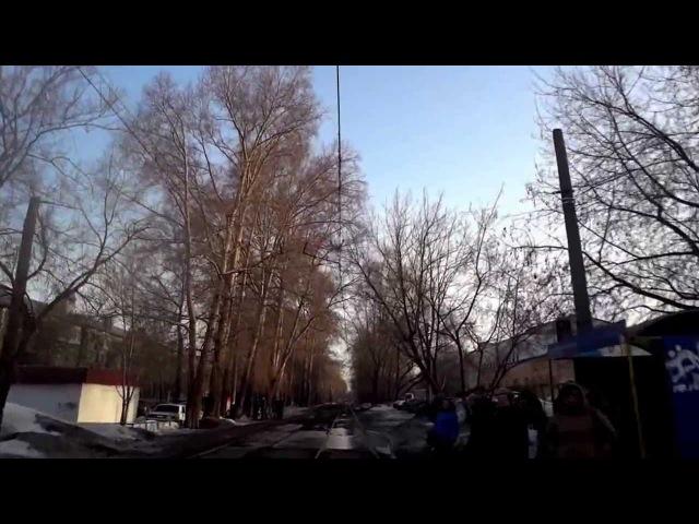 Пермь Трамвай 5 маршрут 2 часть АО Инкар Бахаревка АО Инкар ул Белинского
