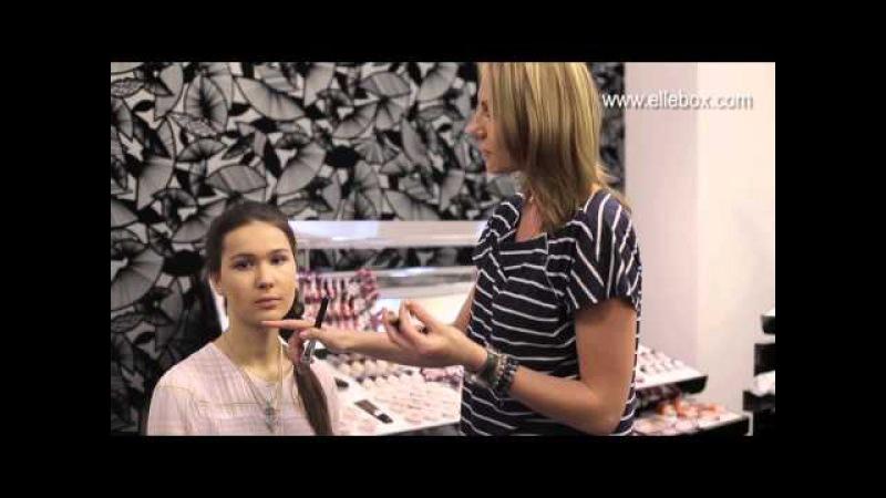 Видео урок вечернего макияжа от ElleBox FreshMinerals