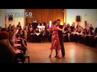 Nany Peralta & Rebecca Olaoire Tango Embrujamiento en La Nacional May 2013