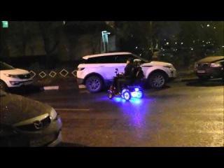 После мелкого ремонта. Часть 1. Скутеры для инвалидов. Mobility scooter.