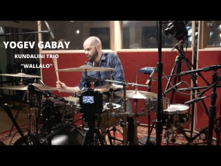 "Meinl Cymbals Yogev Gabay Kundalini Trio Drum Video ""Wallalo"""
