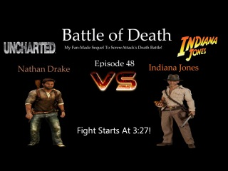Battle of death episode 48: Nathan Drake (Uncharted) vs Indiana Jones (Indiana Jones)(Нейтан Дрейк против Индианы Джонса)