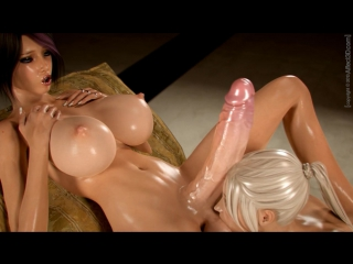 Girlfriends 4 ever [animation, futanari, oral, big tits, dickgirl, anal]