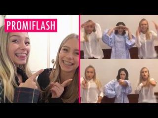 Auf Erfolgskurs: Lisa & Lena tanzen jetzt sogar mit Violetta-Star