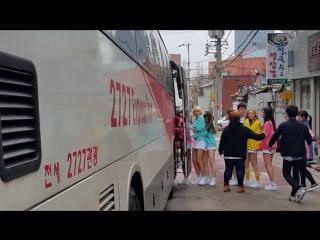 Fancam  PRISTIN () Daegu Fansign Workout