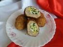 Мясные зразы с начинкой Котлеты с яично луковой начинкой