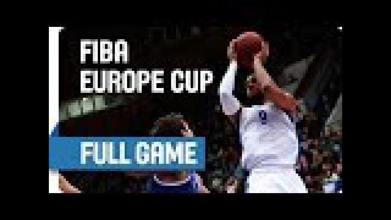 BC Enisey RUS v BC Cibona CRO Full Game Quarter Final Game 3 FIBA Europe Cup