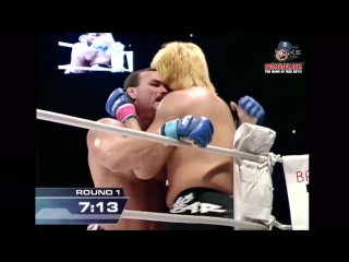 Brutal fight don frye vs yoshihiro takayama pride fc b